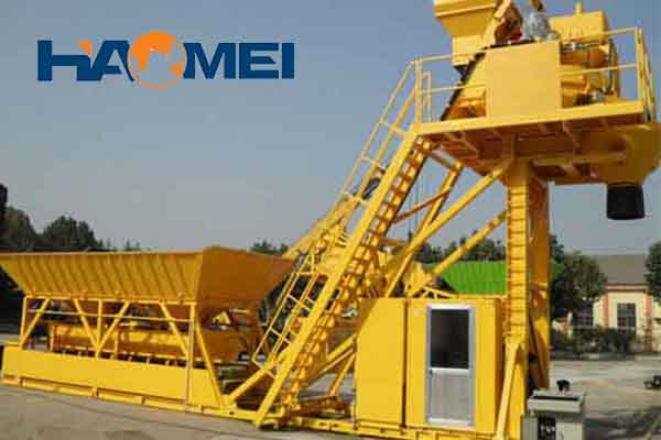 mobile concrete batching plant price